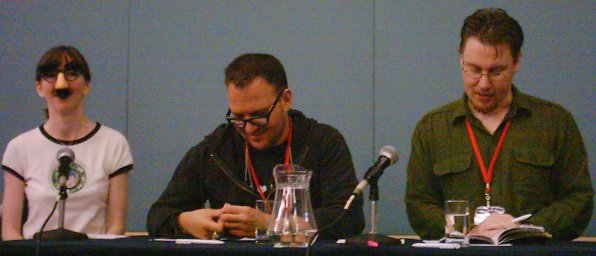 2006-04-15-Brisbane-Conjure-panel-Groucho+Cory-Doctorow+Shane-Jiraiya-Cummings