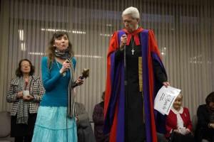 Katherine Phelps and Dr Francis Macnab