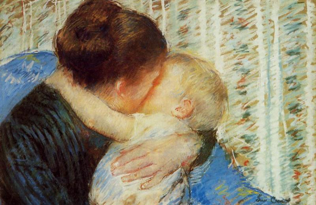 Mary Cassatt: Mother and Child