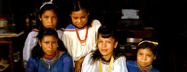 American indian girls