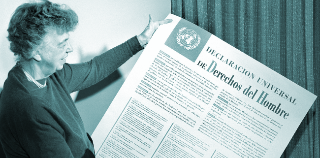 Eleanor Roosevelt and the UN Universal Declaration of Human Rights